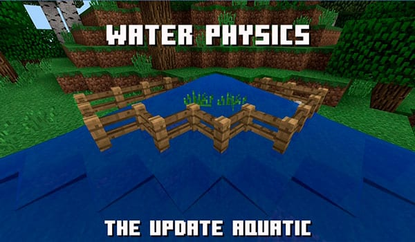 Cambios en las físicas del agua versión 1.14
