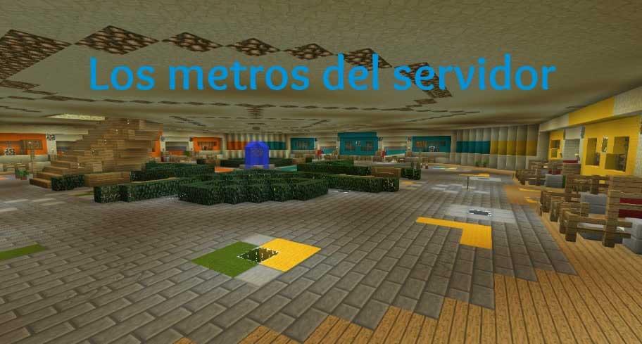 Conoce los metros del servidor!!
