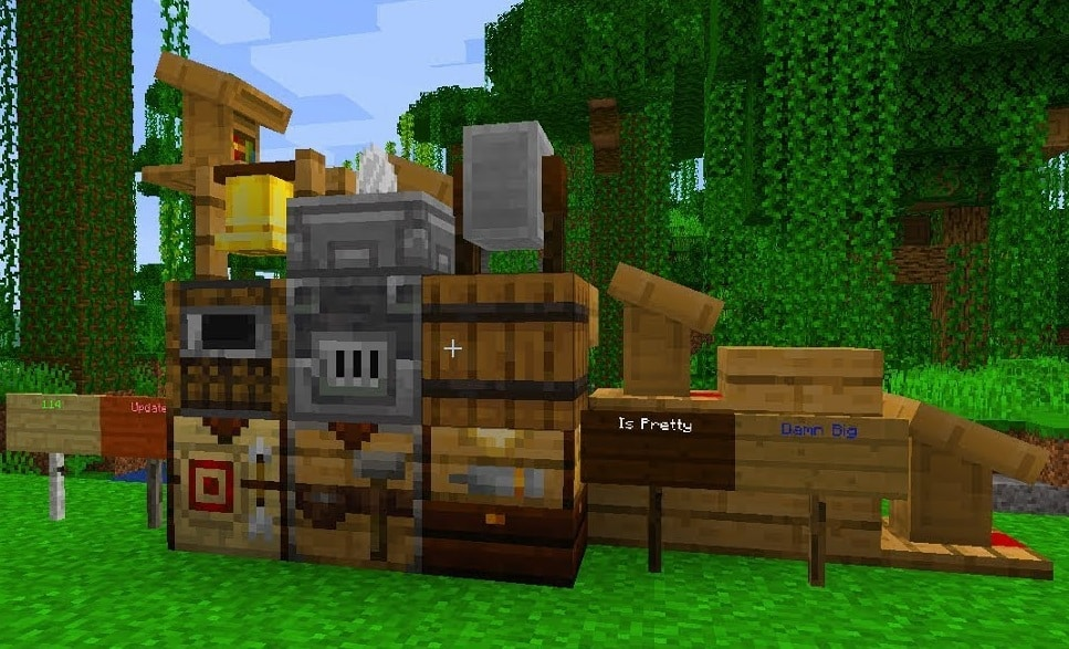 Nuevos bloques de la version Minecraft 1.14