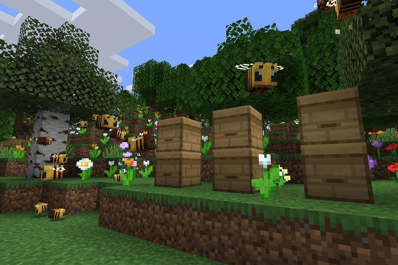 minecraft abejas panales