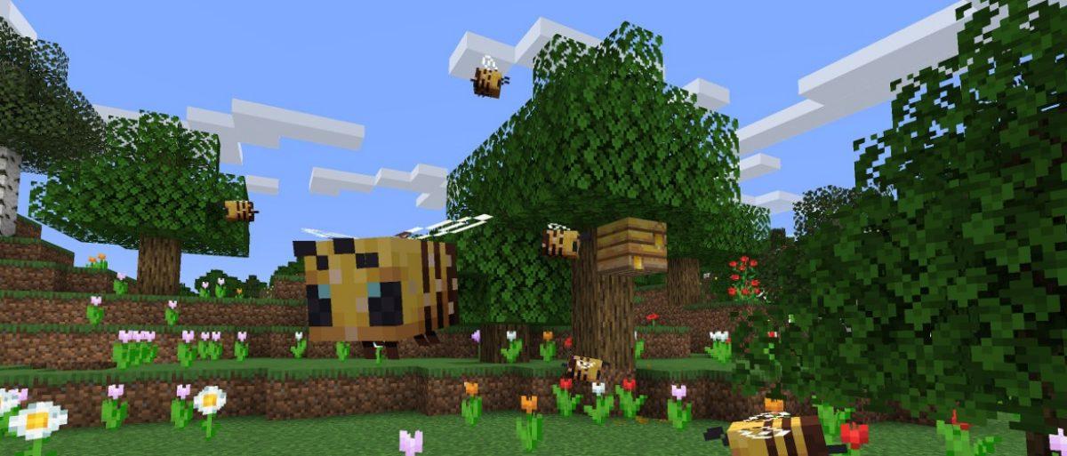 abejas minecraft miel