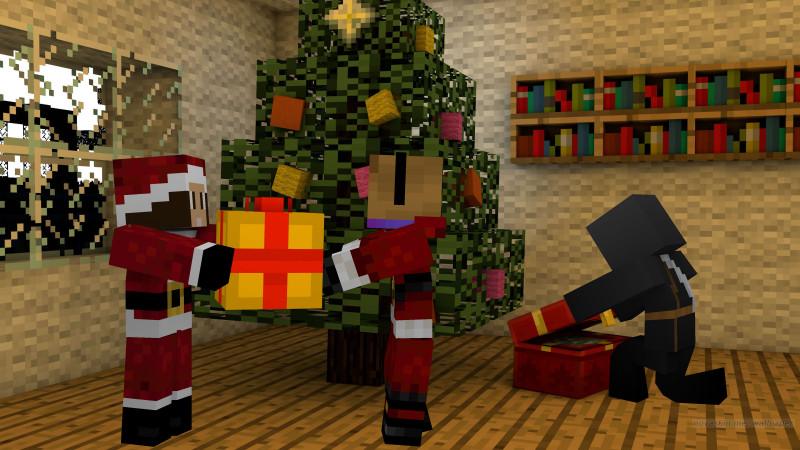Llega la Navidad en Mundo-Minecraft!