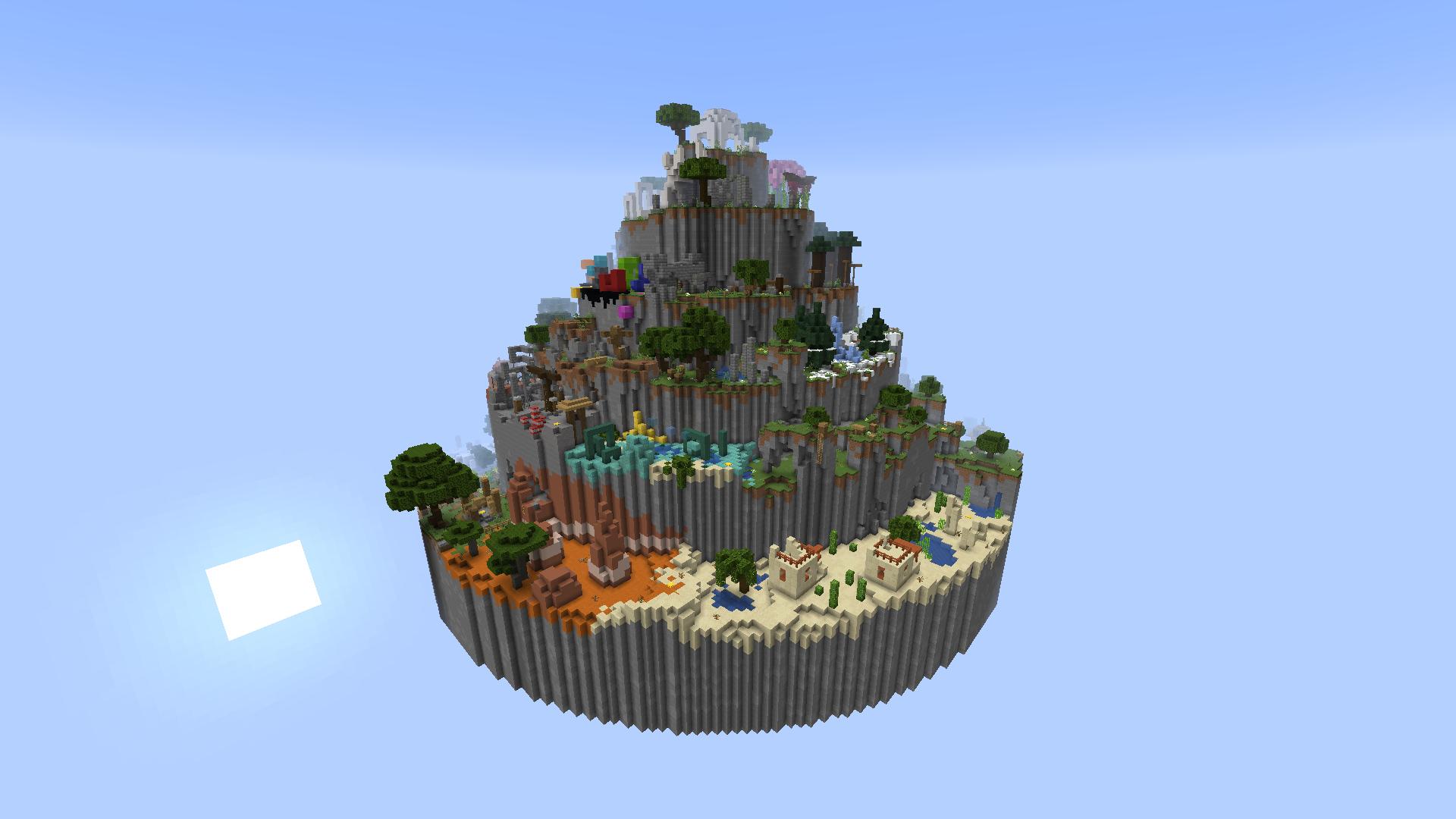 ¡Nuevo mapa de parkour en Mundo-Minecraft!