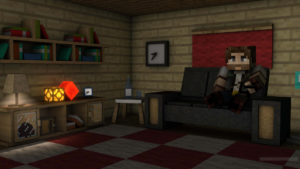 ZULLORD mirando la tele en Silentia