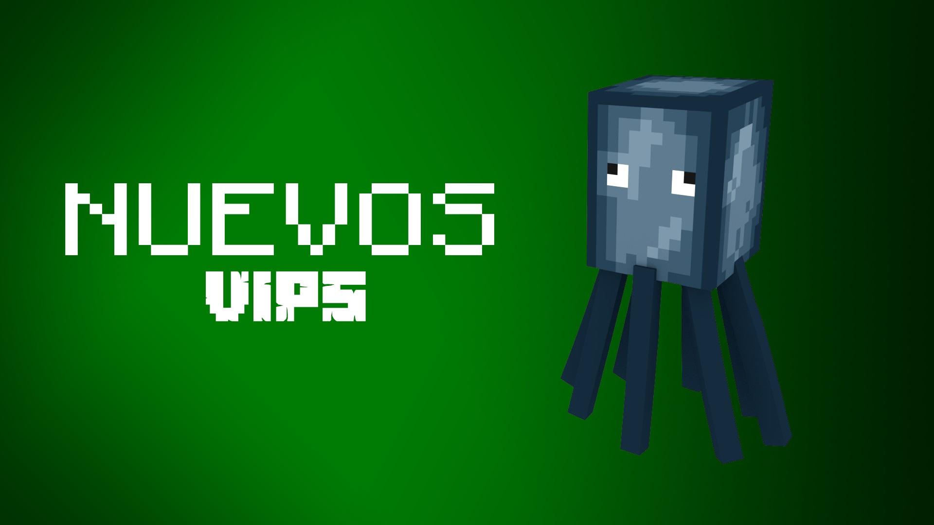 ¡Llegan nuevos VIP a Mundo-Minecraft!